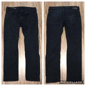 Men's Bullhead Black Billion Skinny Jeans, Size 32